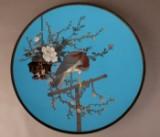 A cloisonné wall plate, Japan, Meiji period