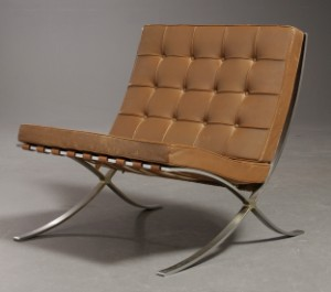 barcelona stol Ludwig Mies van der Rohe, Barcelona Chair | Lauritz.com barcelona stol