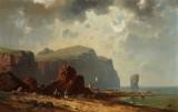 Albert Dressler. Kystparti, antageligt fra Capri