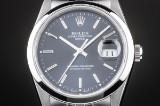 Rolex Date herrearmbåndsur af stål, ref. 16200. Ca.1988