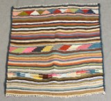 Kelim, handgewebt, 110 x 105