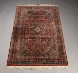 Indisk tæppe, 180 x 120 cm.