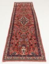 Handknuten äkta matta, Hamadan, 286x73 cm