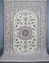 Persian Nain Akhavan with silk. Signed, 377 x 250 cm
