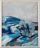 Dag Björn Hellsing oljemålning