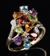 Multicolour ring