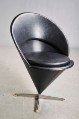 Verner Panton. Cone chair