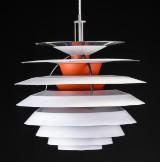 Poul Henningsen. Pendant lamp, PH Contrast