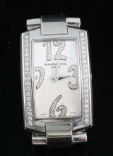 Raymond weil Shine collcetion diamond watch approx. 0.50ct, with box and papers