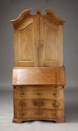 Barok chatol samt stol (2)