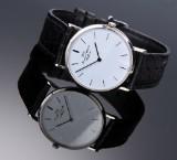 IWC 'Portofino'. Men's watch, 18 kt. white gold, with original strap and clasp, 2000s
