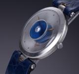 Bunz 'Platinum' ladies' watch, diamond, original platinum clasp, 1990's