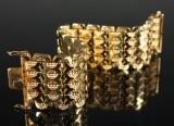 Vintage bracelet, 18 kt. gold, 60 grams