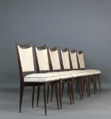 Set of chairs from the 1940s/50s, likely Italy (6)