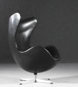 Arne Jacobsen, lounge chair, model 3316, The Egg