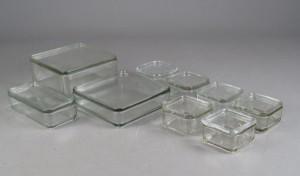 glas wilhelm wagenfeld for bauhaus kubus s t af glas. Black Bedroom Furniture Sets. Home Design Ideas