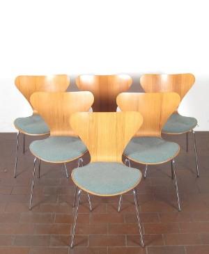 Arne Jacobsen Stühle arne jacobsen stühle modell 3107 für fritz hansen 6 lauritz com