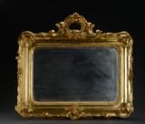 Nyrokoko spejl, 1800-tallets midte