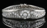 Diamond bracelet in 18kt with approx. 2.06ct