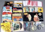 Stor samling Elvis LP'er samt EP'er.