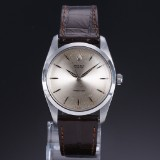 Vintage Rolex 'Oyster Precision' men's watch, steel, silver-coloured dial, c. 1965