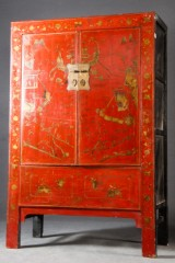 vara 4179847 chinesischer schrank rot lackiert. Black Bedroom Furniture Sets. Home Design Ideas