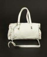 Patrizia Pepe, handväska i vitt skinn
