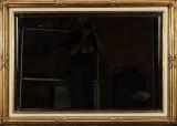 Spejl i ramme af forgyldt træ, Louis XVI stil