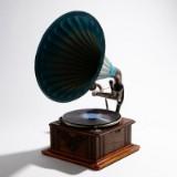 Trattgramofon 1900-tal