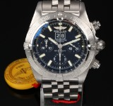 Breitling 'Black Bird'. Men's chronograph, steel with date and stopwatch function, c. 2007