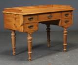 Skrivebord, HC Andersen model, fyrretræ, 18/1900-tallet