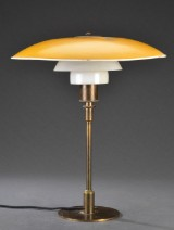 Poul Henningsen. PH 4/3 table lamp, PH4 Patented