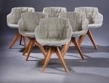 Jean-Marie Massaud. Armchairs, model Flow Slim Armchair (6)