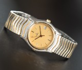 Ebel Damenuhr Modell Classic Wave Gold/Stahl