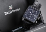 Tag Heuer 'Monaco'. Men's chronograph in PVD-treated steel