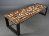Spisebord, genanvendt elmetræ