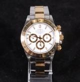 Rolex, 'Zenith' Daytona, men's watch, 18K and steel