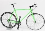 Von Braun. Fixiebike. Neongrønlakeret