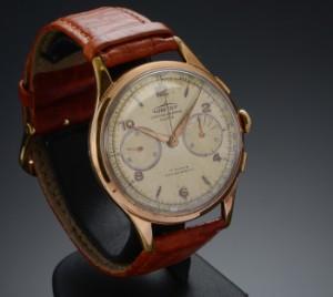 Nye og brugte herreure - Rolex, Cartier, Omega, Breitling - Vintage Chronographe Suisse Aureole ...