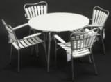 Havemøblement, bord med 4 stole