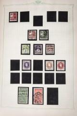 Samling af frimærker