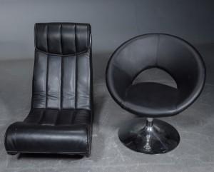 Fabelagtigt Lænestol samt Gamer-stol med højtaler (2)   Lauritz.com SF04