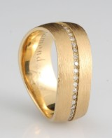 14kt diamond ring approx.0.22ct,by S.T.diamond