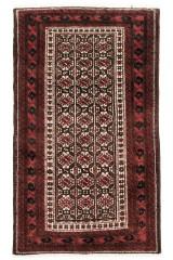 Persisk Beluch tæppe, 190x105 cm.