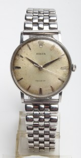Vintage Rolex Precesion herrearmbåndsur.