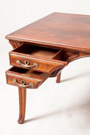 m bel schreibtisch jugendstil mahagoni frankreich um 1900 de hamburg. Black Bedroom Furniture Sets. Home Design Ideas
