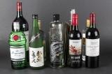 10 flasker spiritus og vin (10)
