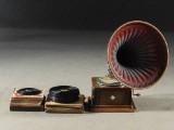 Trattgrammofon, 1900-talets tidigare del