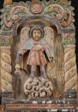 Seks relieffer af forestillende ærkeengle (6)