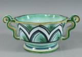 Arthur Percy, Gefle, punch bowl, stoneware, 1920s